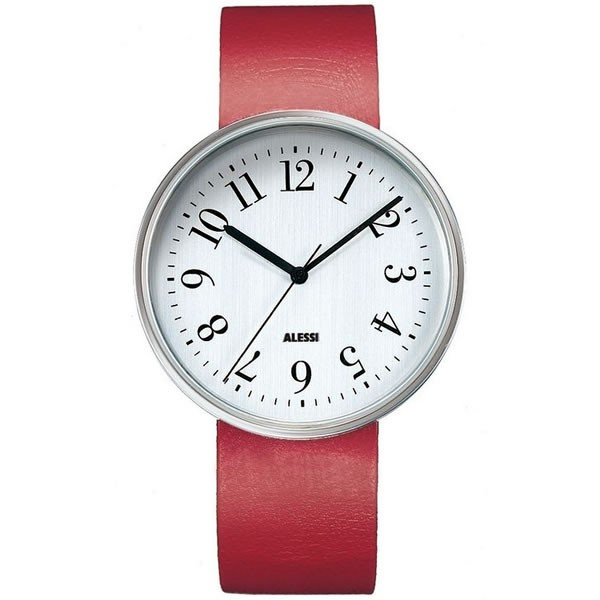 Alessi Watch - Record - Red - Medium