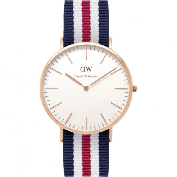 Daniel Wellington Watch - Classic Canterbury - Rose gold