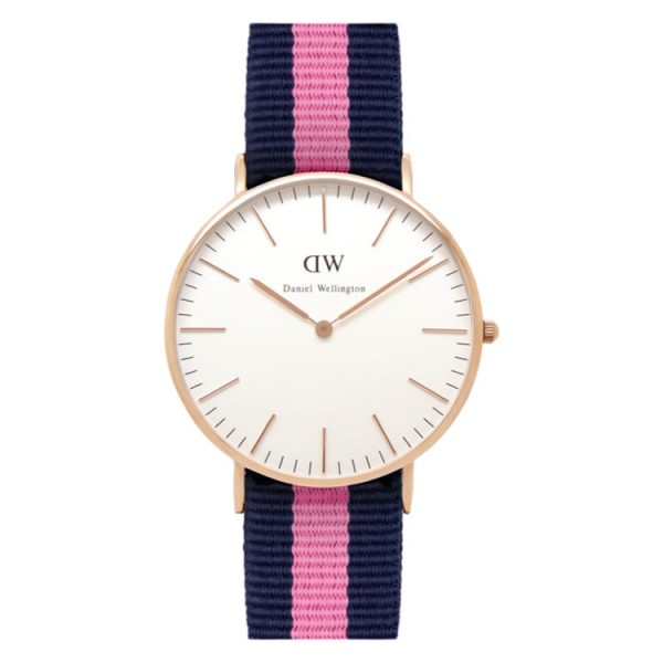 Daniel Wellington Watch - Classic Winchester - Ladies - Rose gold