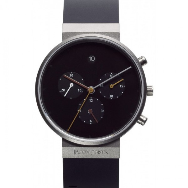 Jacob Jensen Watch - 600 Titanium Sapphire Chrono