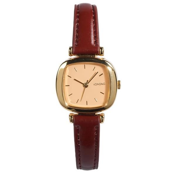 Komono Watch - Moneypenny - Gold/Peach