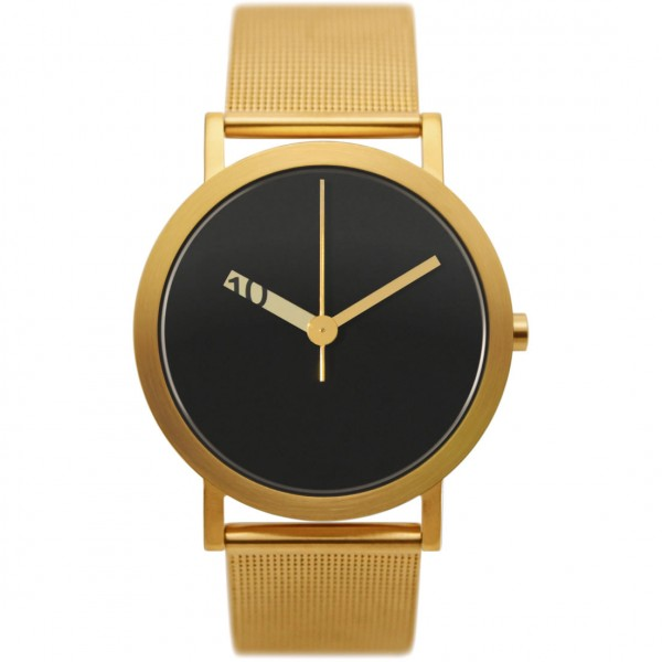 Normal Timepieces - Extra Normal Grande - Gold Mesh