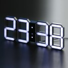 Kibardin Design Clock - White & White (Black Edition)