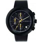 HYGGE Watch - 2312 Series - Leather - Black/Black