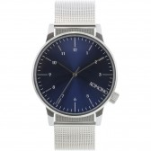 Komono Watch - Winston Royale - Silver/Blue