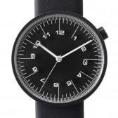 by | n Watch - The Draftsman - 01.scale - 36mm Black