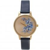 Olivia Burton Watch - Parlour - Floral Navy & Gold