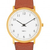 Projects Watch (Tibor Kalman) - Bodoni - Brass/Brown