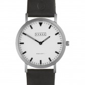 Shore Projects Watch - Poole Leather Black