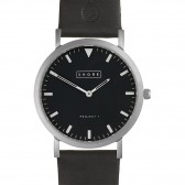 Shore Projects Watch - Whitstable Leather Black