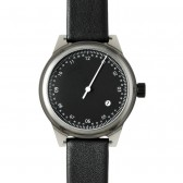squarestreet Watch - Minuteman One Hand - Grey/Black
