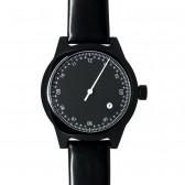squarestreet Watch - Minuteman One Hand - Black/Black