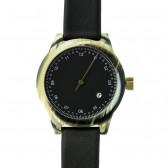 squarestreet Watch - Minuteman One Hand - Horn/Black