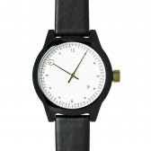 squarestreet Watch - Minuteman Two Hand - Black/White