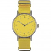 VOID V03B Watch - Brushed/Yellow