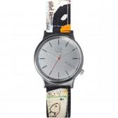 Komono Watch - Jean Michel Basquiat - Wizard - Print Tenor