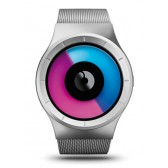 ZIIIRO Watch - Celeste - Chrome Purple