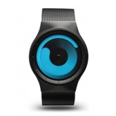 ZIIIRO Watch - Mercury - Black/Ocean