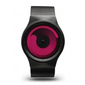 ZIIIRO Watch - Mercury - Black/Magenta