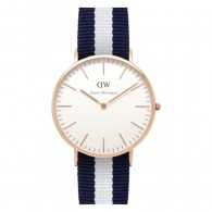 Daniel Wellington Watch - Classic Glasgow - Ladies - Rose gold
