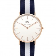 Daniel Wellington Watch - Classic Glasgow - Rose gold