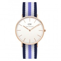 Daniel Wellington Watch - Classic Trinity - Ladies - Rose gold