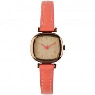 Komono Watch - Moneypenny - Dayglow Coral