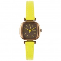 Komono Watch - Moneypenny - Dayglow Yellow