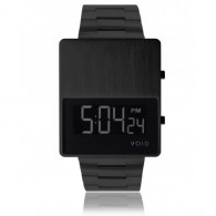 VOID V01 Watch - Steel - Black