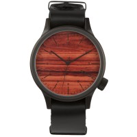 Komono Watch - Magnus - Black/Wood