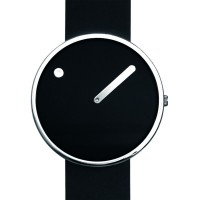 Rosendahl Watch - PICTO - Black/Silver Large