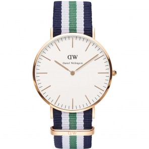 Daniel Wellington Watch - Classic Nottingham - Rose gold