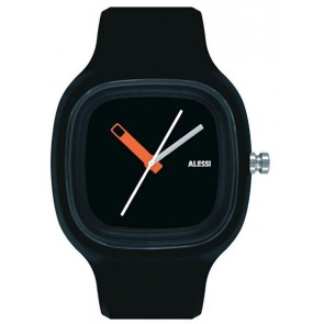 Alessi Watch - Kaj - Black