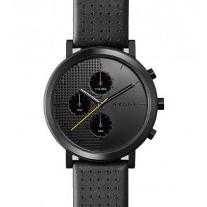 HYGGE Watch - 2204 Series - Leather - Black/Black