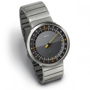 Botta Watch - Uno 24 - Steel