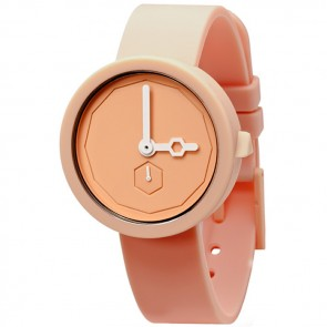 AÃRK Watch - Classic - White Peach