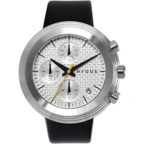 HYGGE Watch - 2312 Series -Leather - Silver/Silver
