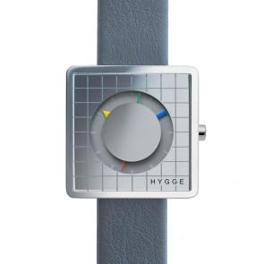 HYGGE Watch - 2089 Series - Grid - Grey/Grey