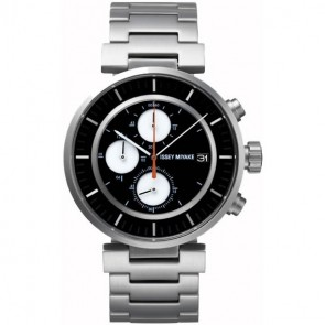 Issey Miyake Watch - 'W' - Steel - Silver/Black