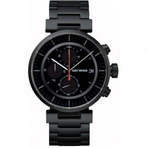 Issey Miyake Watch - 'W' - Steel - Black/Black