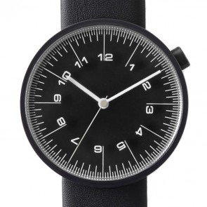 by | n Watch - The Draftsman - 01.scale - 36mm Black