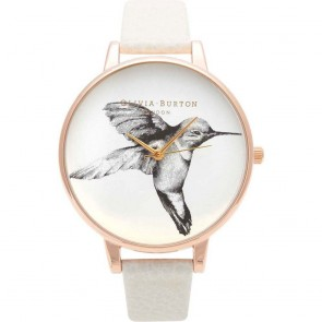 Olivia Burton Watch - Animal Motif - Mink Hummingbird
