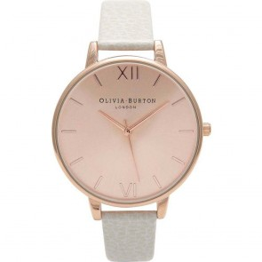 Olivia Burton Watch - Big Dial - Mink & Rose Gold