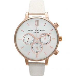 Olivia Burton Watch - Chrono Detail - Mink & Rose Gold