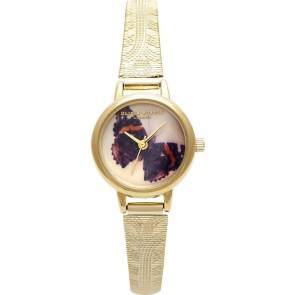 Olivia Burton Watch - Woodland - Mesh Butterfly Gold