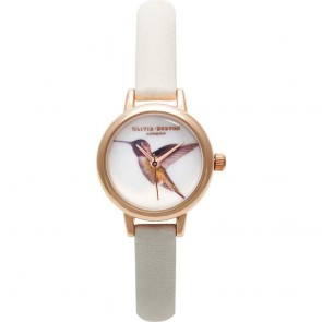 Olivia Burton Watch - Woodland - Mink Hummingbird