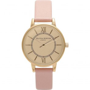 Olivia Burton Watch - Wonderland - Dusty Pink & Gold