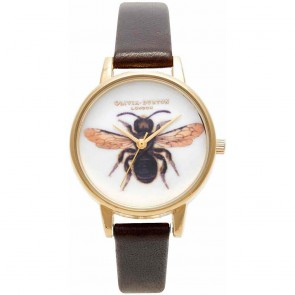 Olivia Burton Watch - Woodland - Chocolate Bee