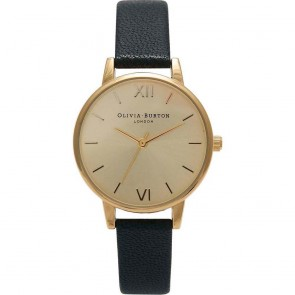 Olivia Burton Watch - Midi Dial - Black & Gold