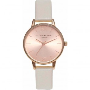 Olivia Burton Watch - Midi Dial - Mink & Rose Gold